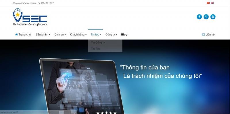 Top 8 công ty an ninh mạng hàng đầu Việt Nam