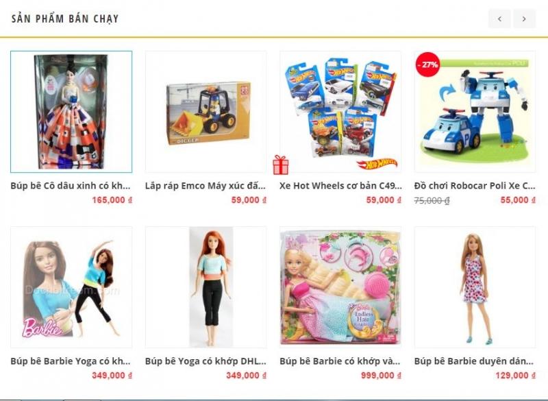 Công ty cổ phần bán buôn đồ chơi Yêu Trẻ