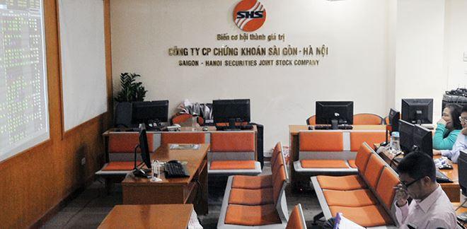 Công ty cổ phần chứng khoán sài gòn – Hà Nội ( SHS )