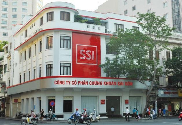 SSI - công ty lớn nhất sàn chứng khoán Việt Nam