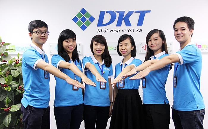 DKT sở hữu một đội ngũ nhân viên trẻ, trình độ chuyên môn cao và nhiệt huyết với công việc