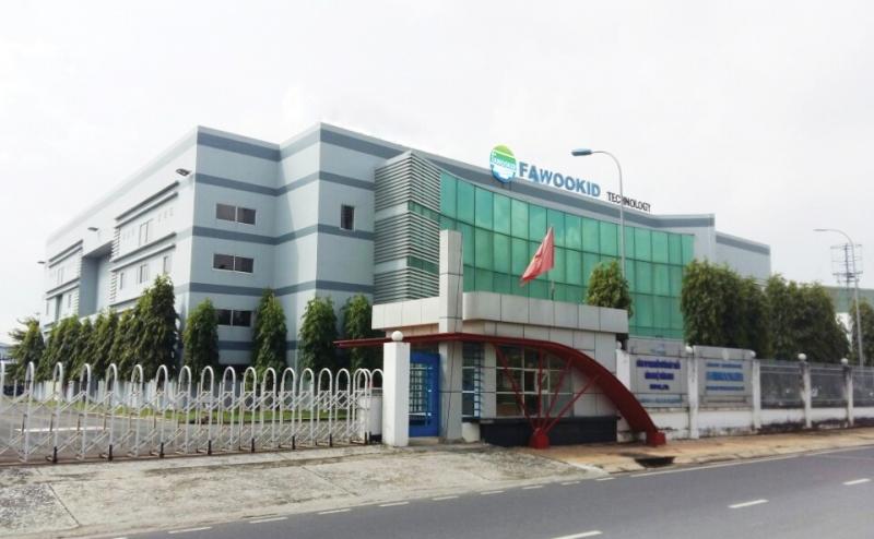 Nhà máy sản xuất đèn led đầu tiên tại Việt Nam Fawookidi, khu công nghệ cao Quận 9