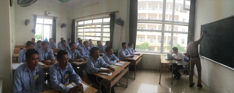 Lớp đào tạo xuất khẩu lao động tại công ty SONA