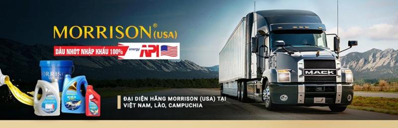Công ty Cổ phần Dầu mỡ nhờn Việt Nam -  Morrison Vietnam