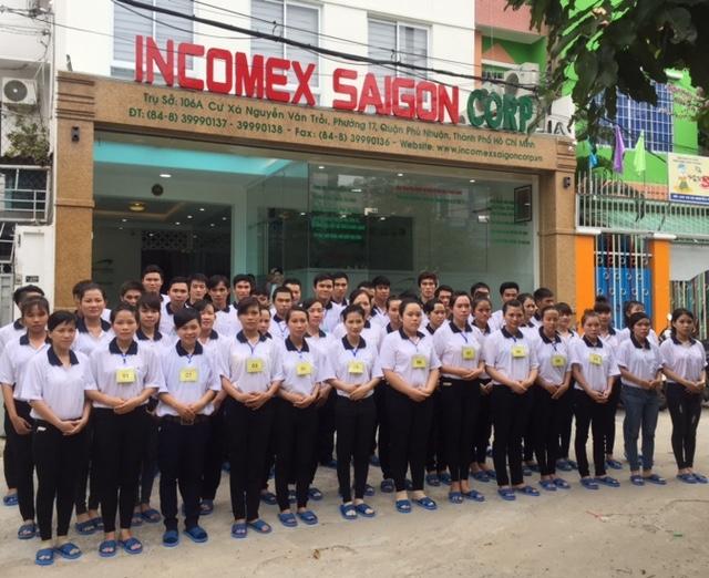 Công ty cổ phần đầu tư nhân lực Thương mại Xuất nhập khẩu Sài Gòn (INCOMEX SAIGON CORP)