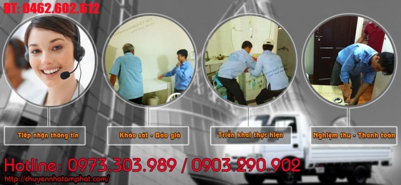 Dịch vụ chuyên nghiệp của công ty Tâm Phát