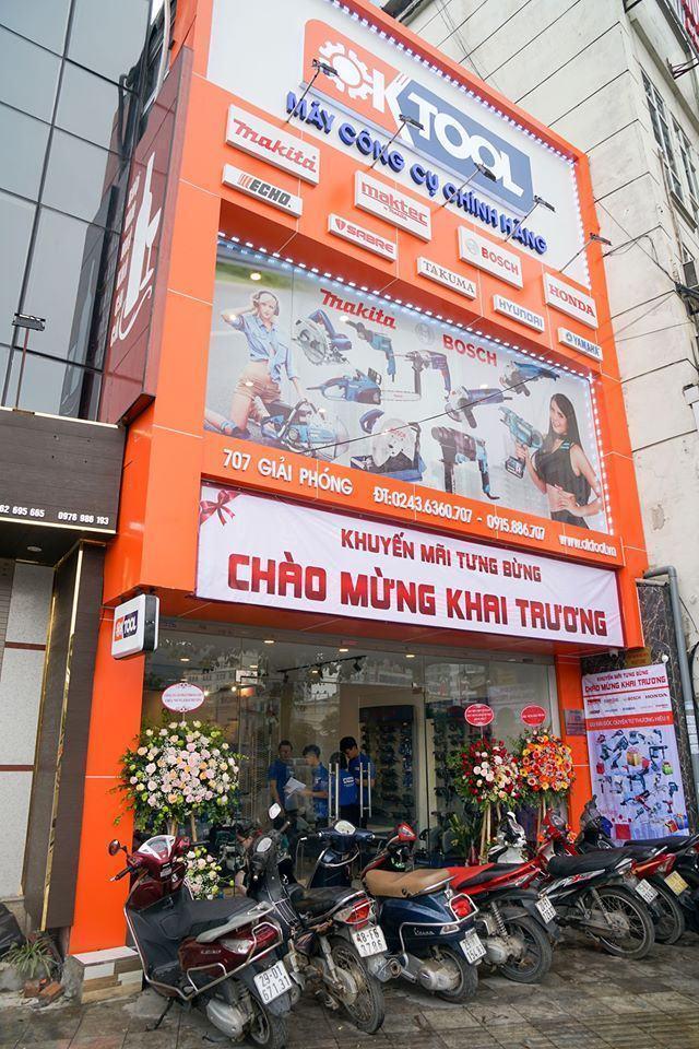 Công ty CP điện máy OKTOOL Việt Nam