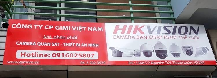 GIMI - nhà phân phối camera Hikvision chính hãng uy tín tại Hà Nội