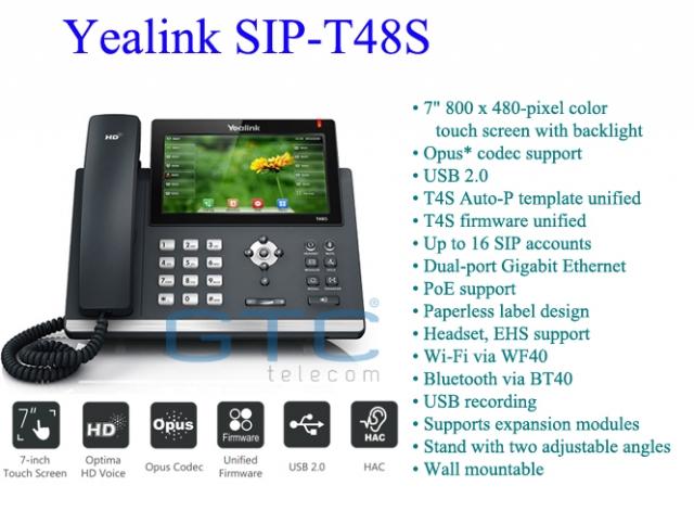 Điện thoại Yealink SIP-T48S