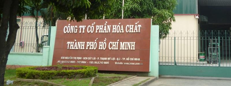Công ty cổ phần hóa chất thành phố Hồ Chí Minh