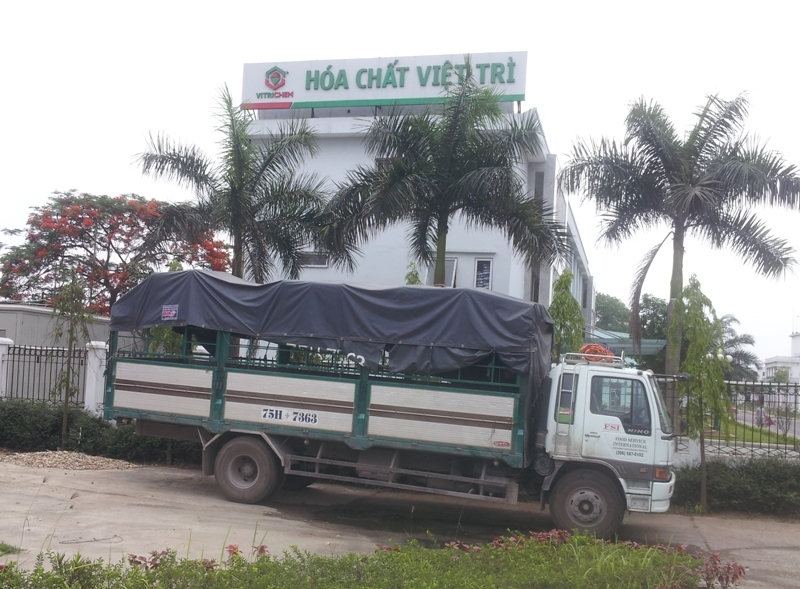 Công ty cổ phần hóa chất Việt Trì