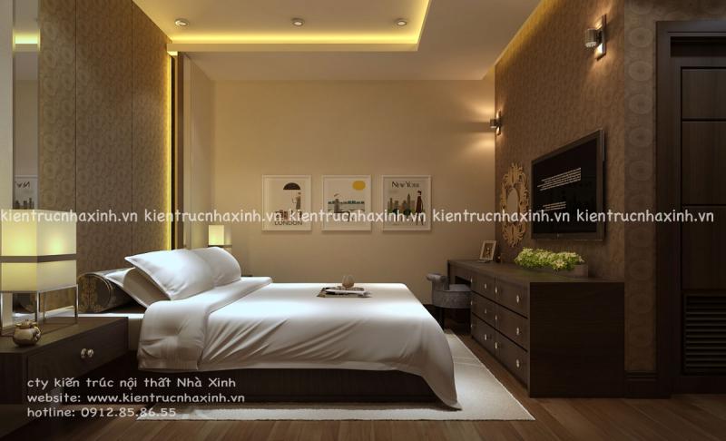 Nội thất phòng ngủ khách sạn cao cấp