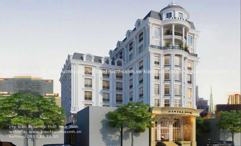 Dự án khách sạn Nhà Xinh thực hiện