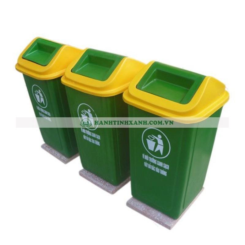 Thùng rác- Nhựa Bình Thuận