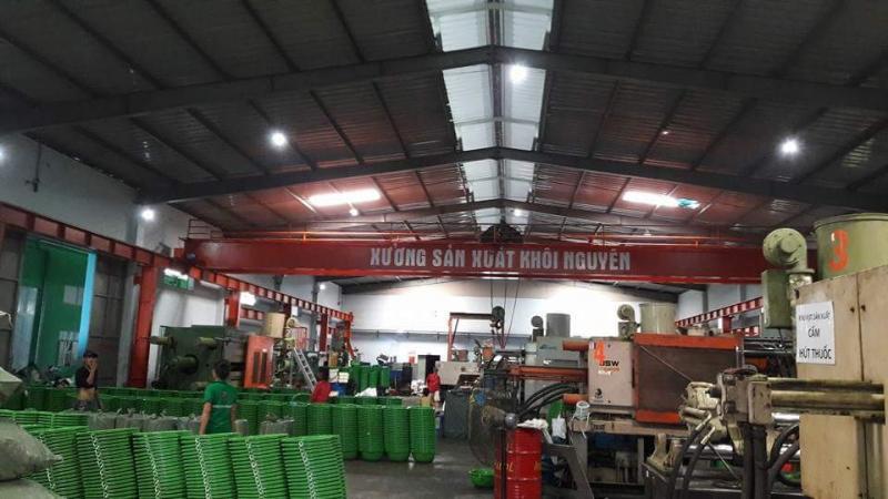 Xưởng sản xuất Công Ty Cổ Phần Nhựa Khôi Nguyên