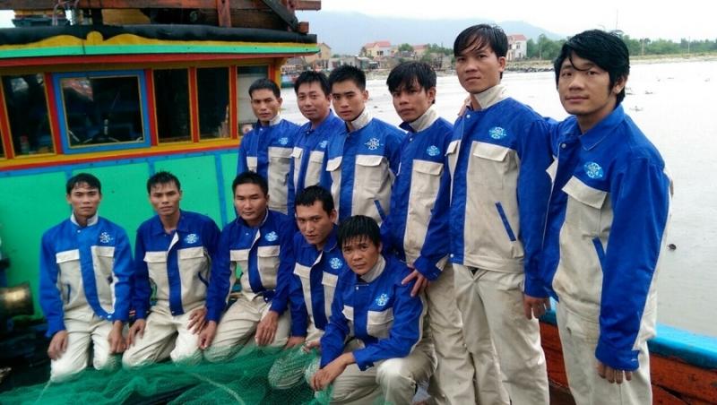 Những thuyền viên làm việc tại Hàn Quốc