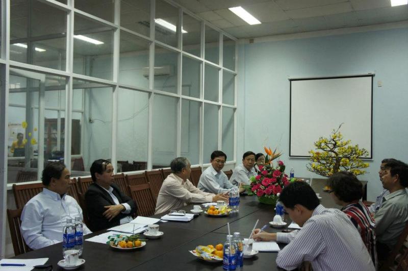 Cuộc họp của công ty Phước Hưng.