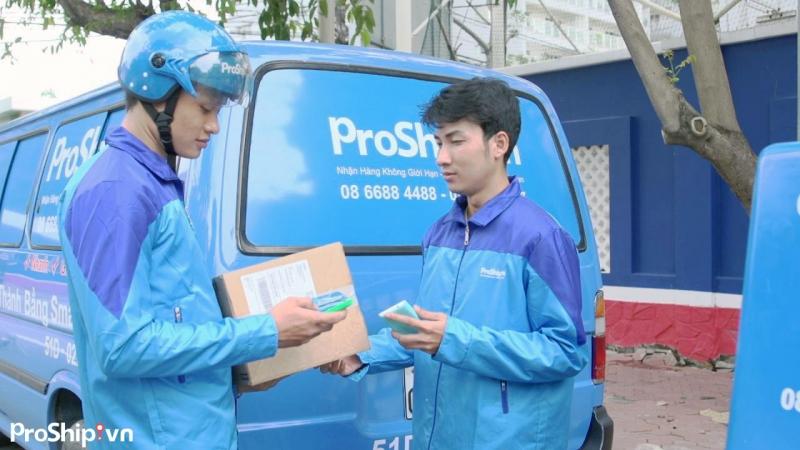 Proship đại lý CPN trung gian của các hãng chuyển phát nhanh quốc tế lớn