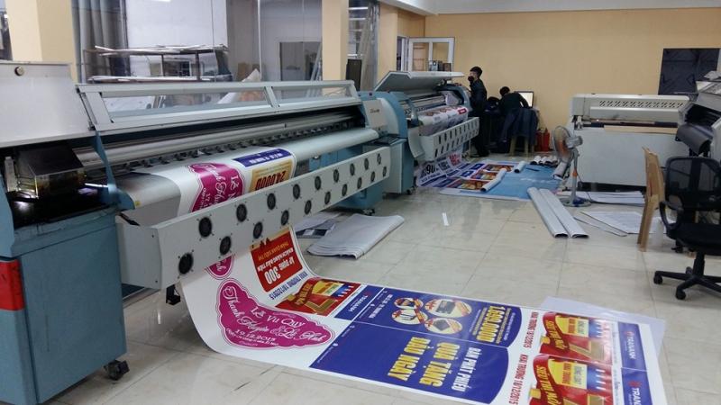 Công ty có hệ thống in ấn hiện đại