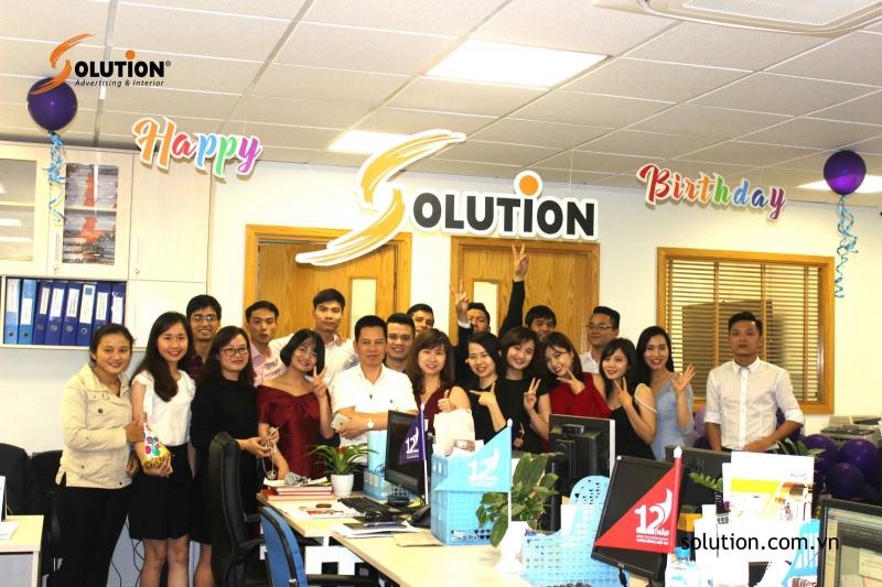 Đội ngũ nhân viên của Solution