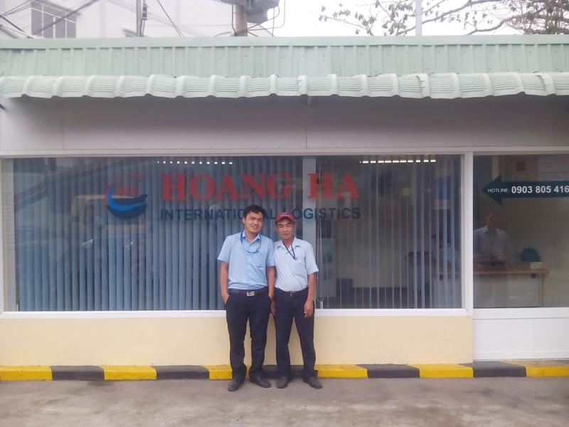 Hoàng Hà tự hào có một trong những kho hàng lớn nhất ở Đà Nẵng, phục vụ lưu trữ chờ vận chuyển hàng của hành khách.