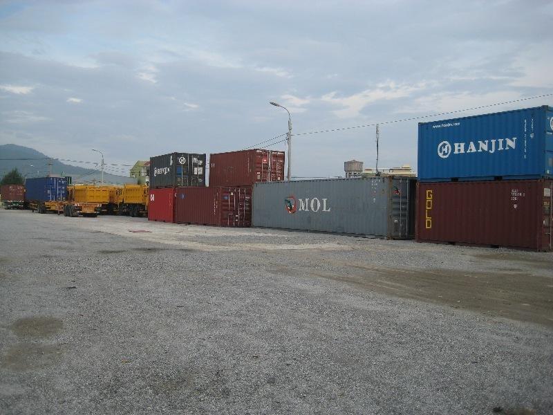 Hàng hóa vận tải tại cảng