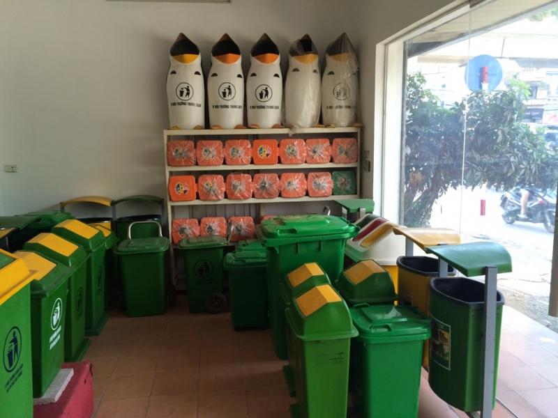 Thùng chứa rác Nhựa Hiệp Thành