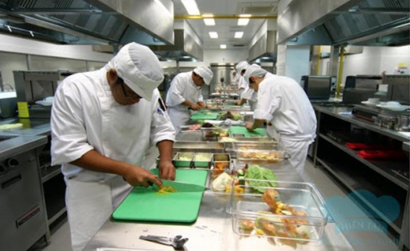 Phòng ăn của công ty Atesco