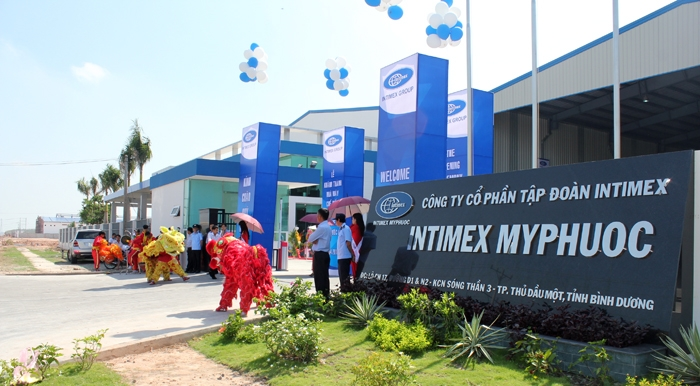 Nhà máy Intimex Mỹ Phước II trong ngày khánh thành.