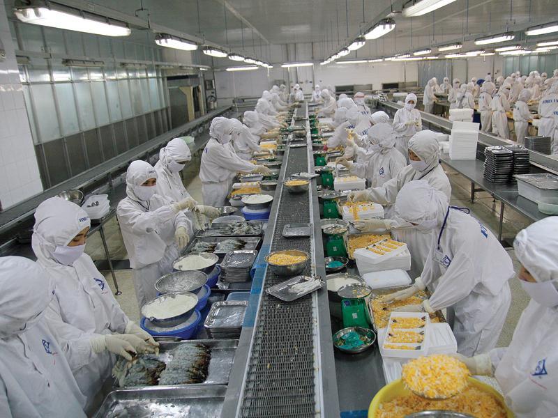 Công ty cổ phần tập đoàn thủy hải sản Minh Phú