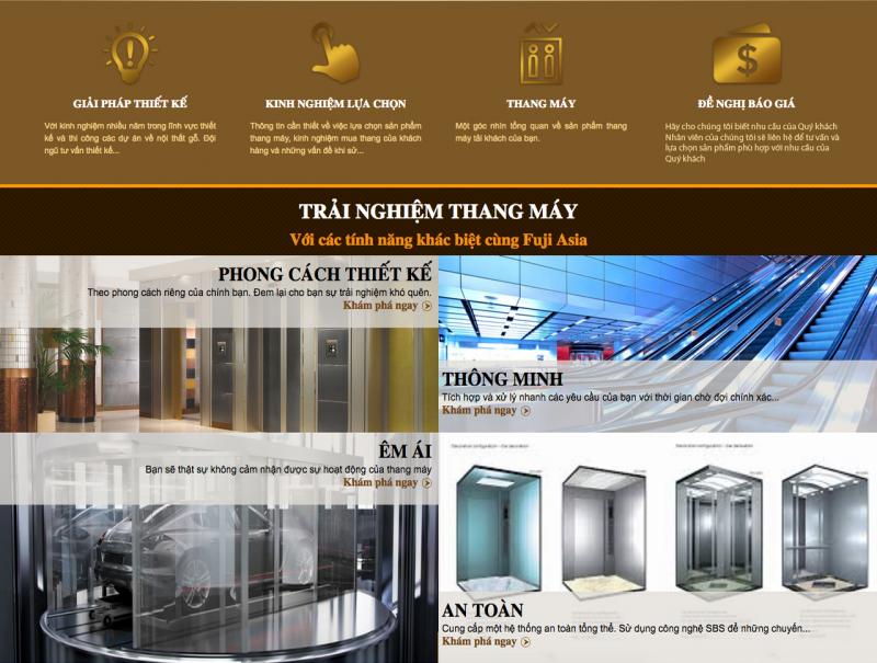 Công Ty Cổ Phần Thang Máy Fuji Asia
