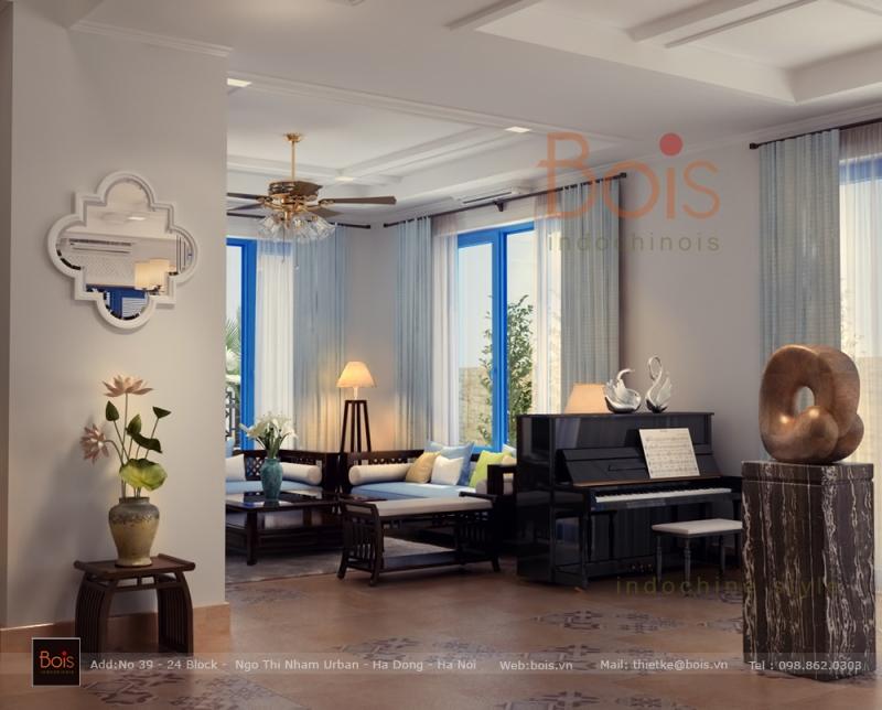 Công ty cổ phần thiết kế nội thất Bois Indochinois