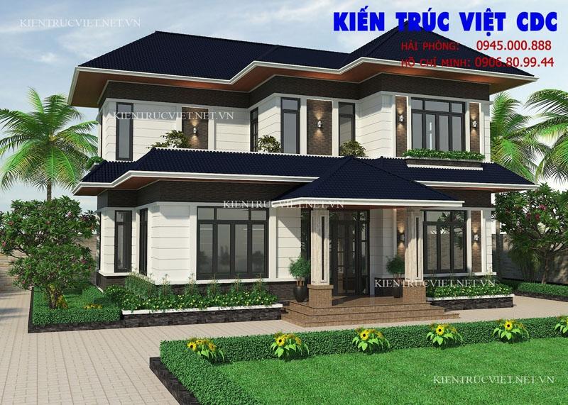 Thiết kế biệt thự tại thành phố Hưng Yên, tỉnh Hưng Yên.