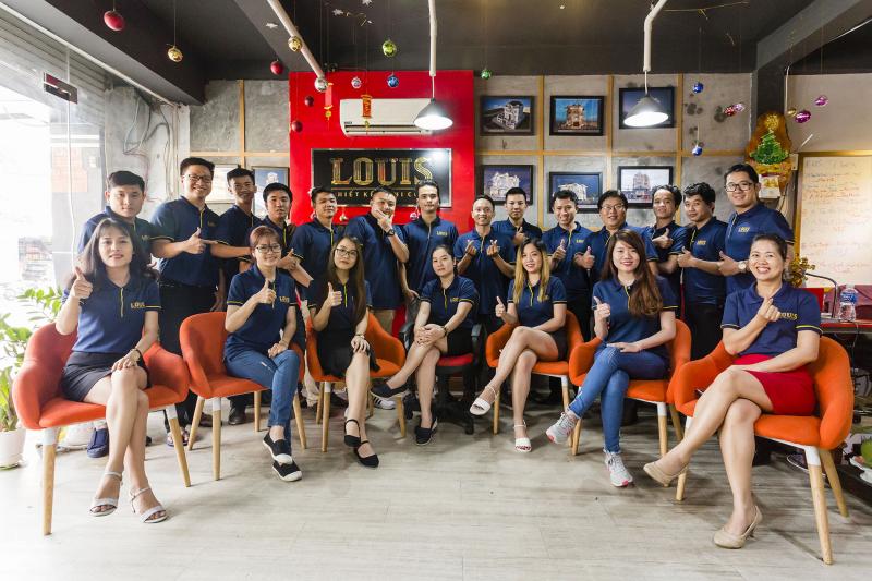 Đội ngũ nhân viên tại LOUIS