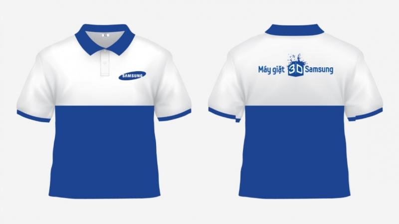 Một mẫu đồng phục của công ty Samsung