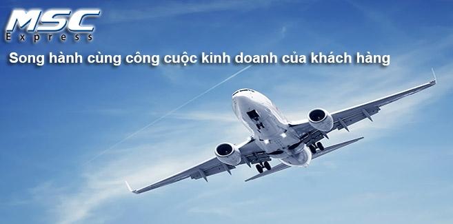 MSC là một trong những công ty chuyển phát nhanh quốc tế giá rẻ và uy tín nhất Việt Nam