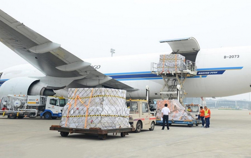 Vận tải hàng không là một trong những thế mạnh của Đại Dương Xanh