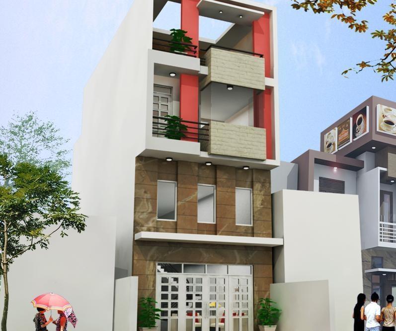 Mẫu thiết kế nhà phố.