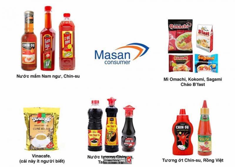 Các sản phẩm của Massan