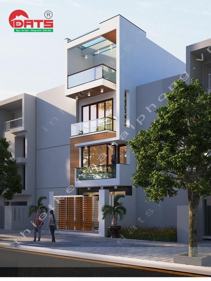 Thiết kế nhà phố Vĩnh Niệm, Lê Chân, Hải Phòng.