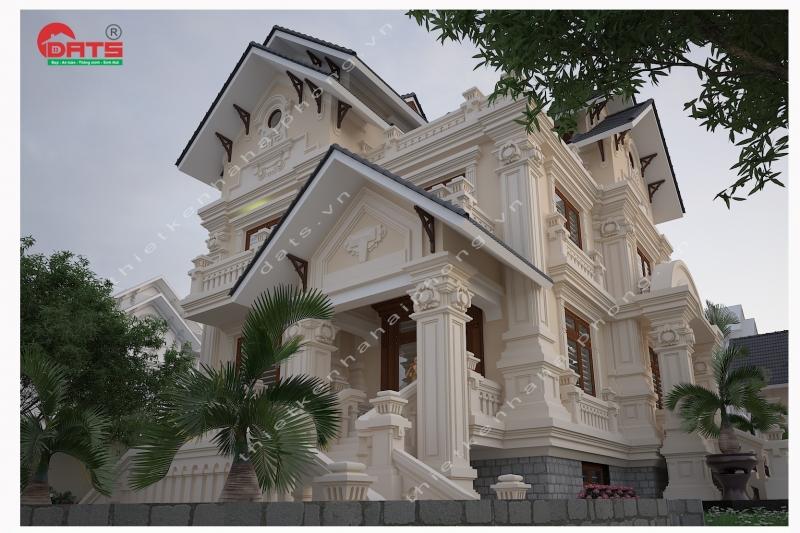 Thiết kế biệt thự ở An Lão, Hải Phòng.