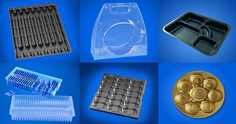 Sản xuất bao bì định hình, khay nhựa...và các sản phẩm về nhựa