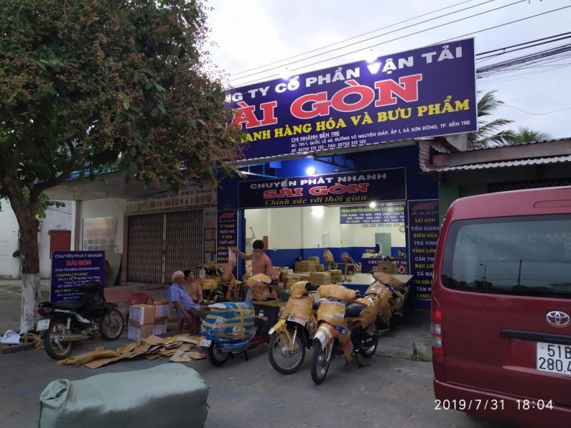 Công Ty Cổ Phần Vận Tải Sài Gòn