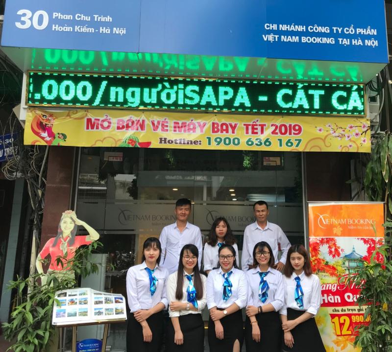 Văn phòng Vietnam Booking tại Hà Nội