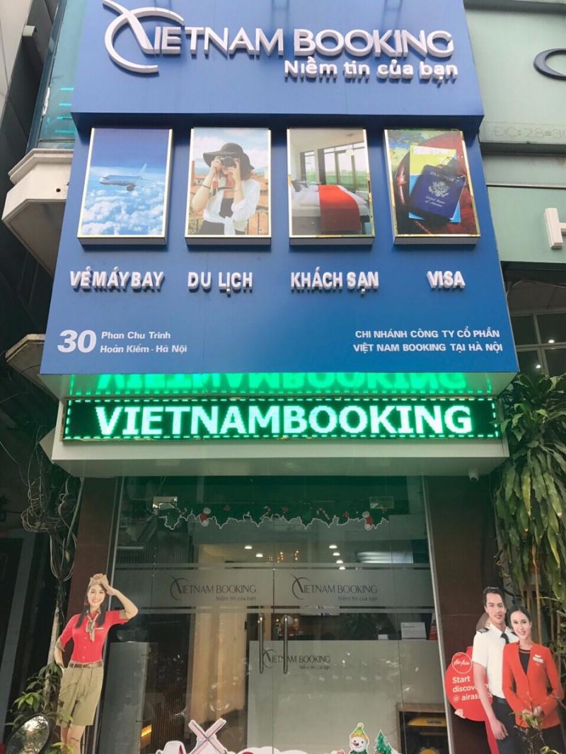 Văn phòng Việt Nam Booking tại Hà Nội