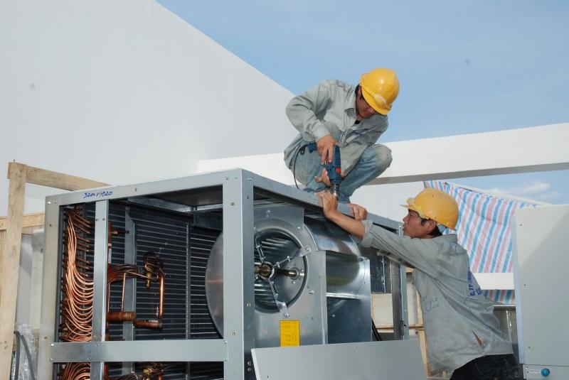 Dịch vụ lắp đặt và sửa chữa điều hòa của công ty Vietfix