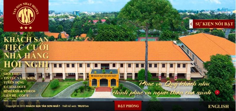 Tân Sơn Nhất Hotel là một trong những dự án thành công của Trust.vn