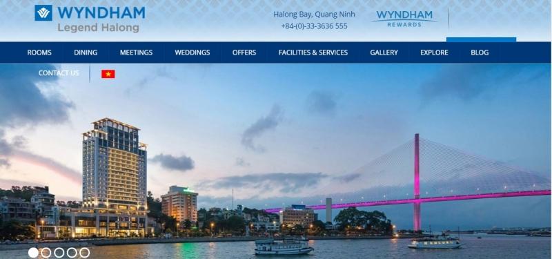 Wyndham Legend Halong Hotel là dự án vô cùng thành công của VietISO