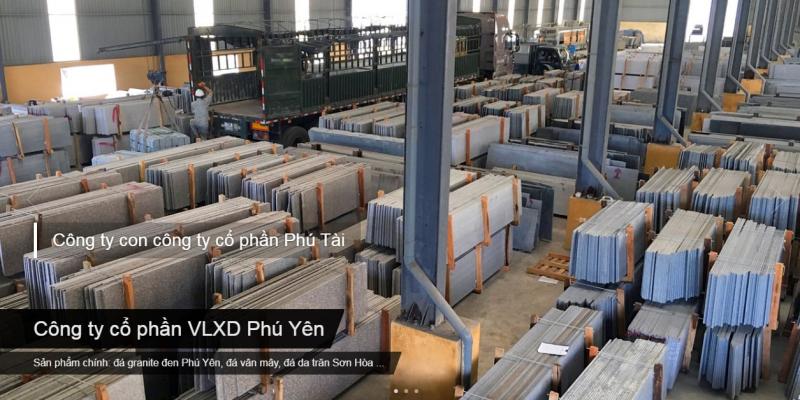 Công ty cổ phần VLXD Phú Yên