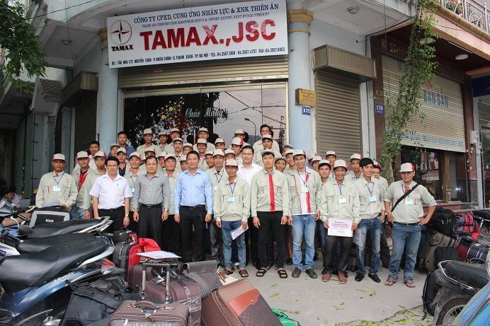 TAMAX là công ty xuất khẩu lao động uy tín